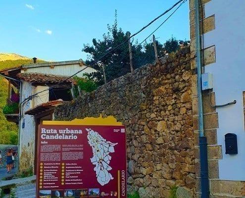 Señaletica - Ruta urbana Candelario (Salamanca) - 03
