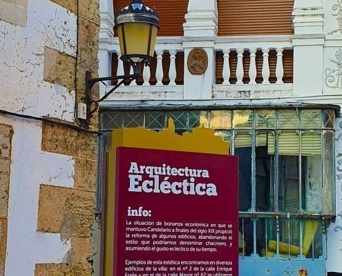 Señaletica - Arquitectura Eléctrica Candelario (Salamanca)