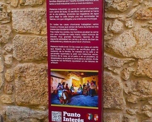Señaletica - Punto de interés 11 Calendario (Salamanca)