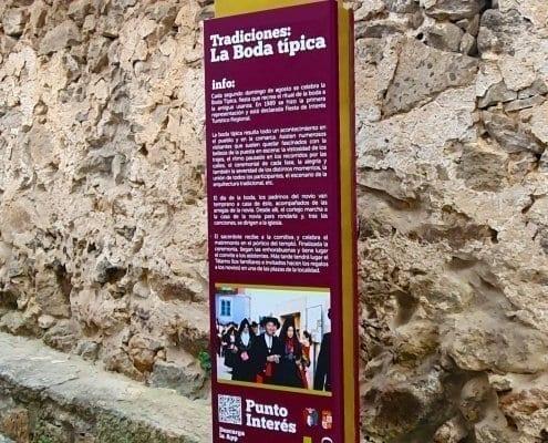 Señaletica - Punto de interés 12 Calendario (Salamanca)