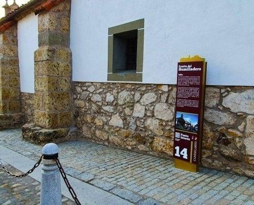Señaletica - Punto de interés 14 Calendario (Salamanca)
