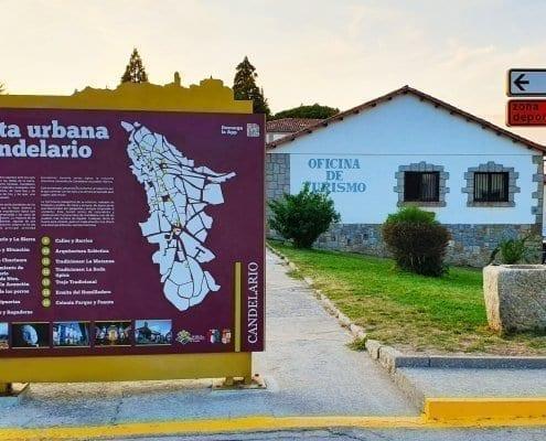 Señaletica - Ruta urbana Candelario (Salamanca)