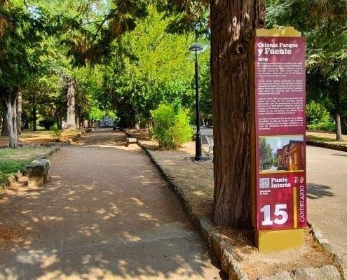 Señaletica - Punto de interés 15 Calendario (Salamanca)