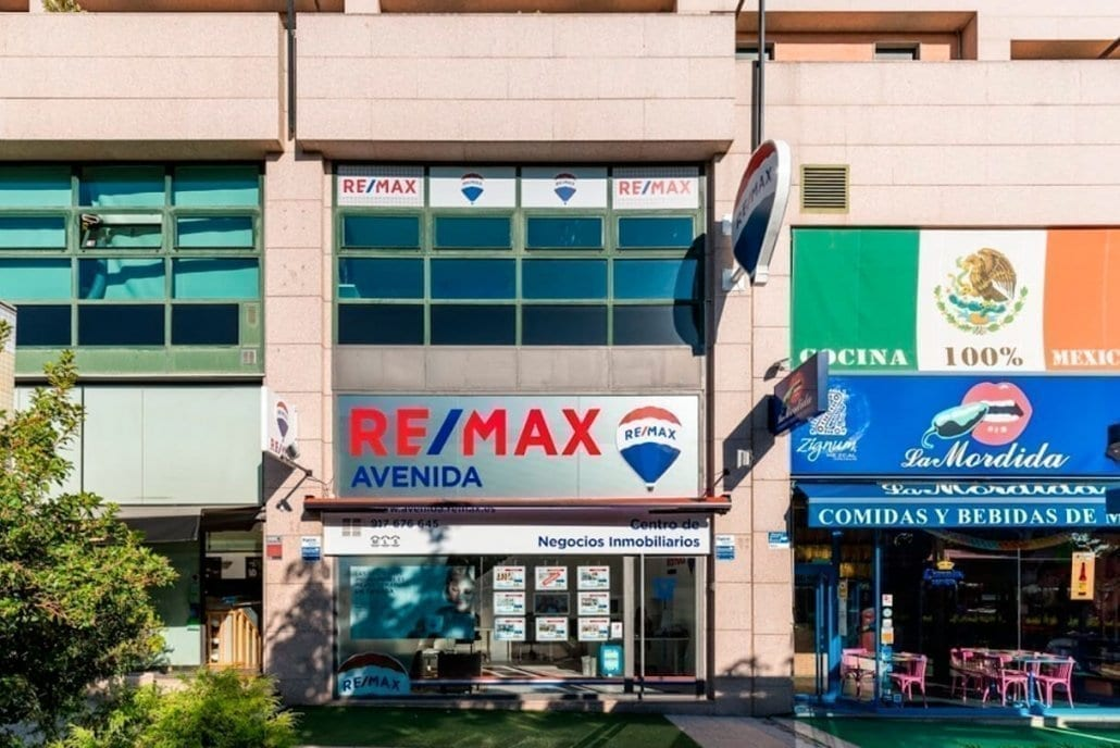 Rótulos para inmobiliaria en Madrid