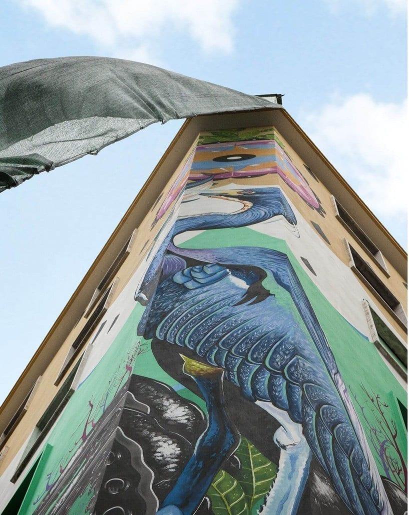 graffiti contra la contaminación