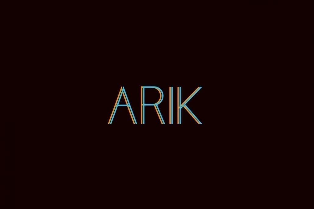 Tipografía de marca ARIK