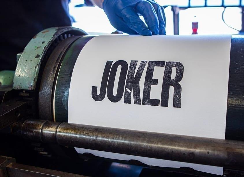 Tipografía Joker