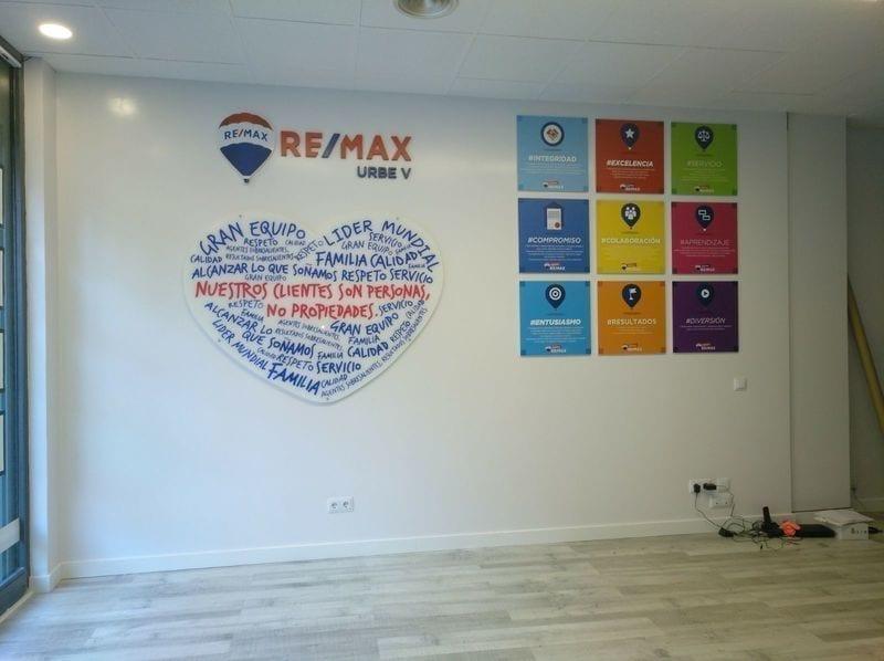 rotulacion interior remax