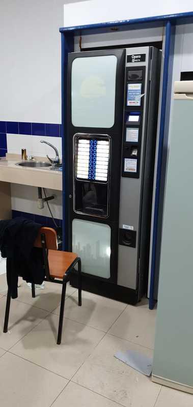 Rotulación de máquina de Vending