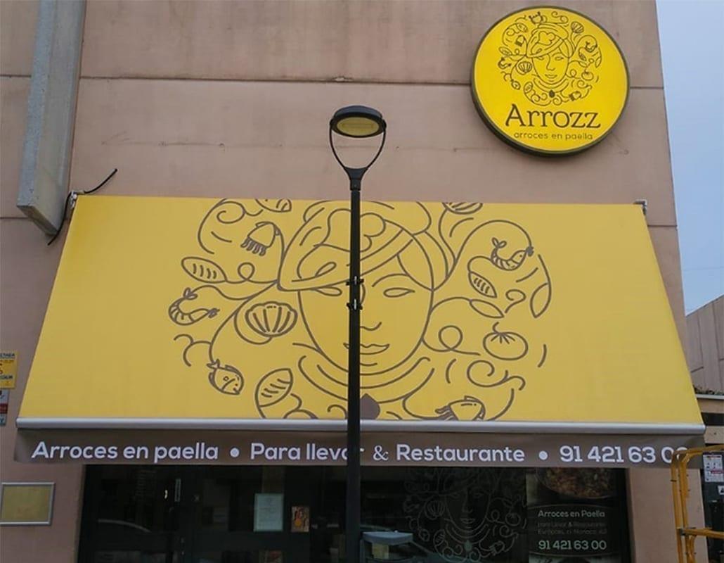 Fachada restaurante Arrozz