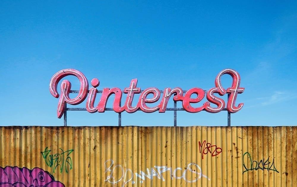 Rótulo destartalado Pinterest
