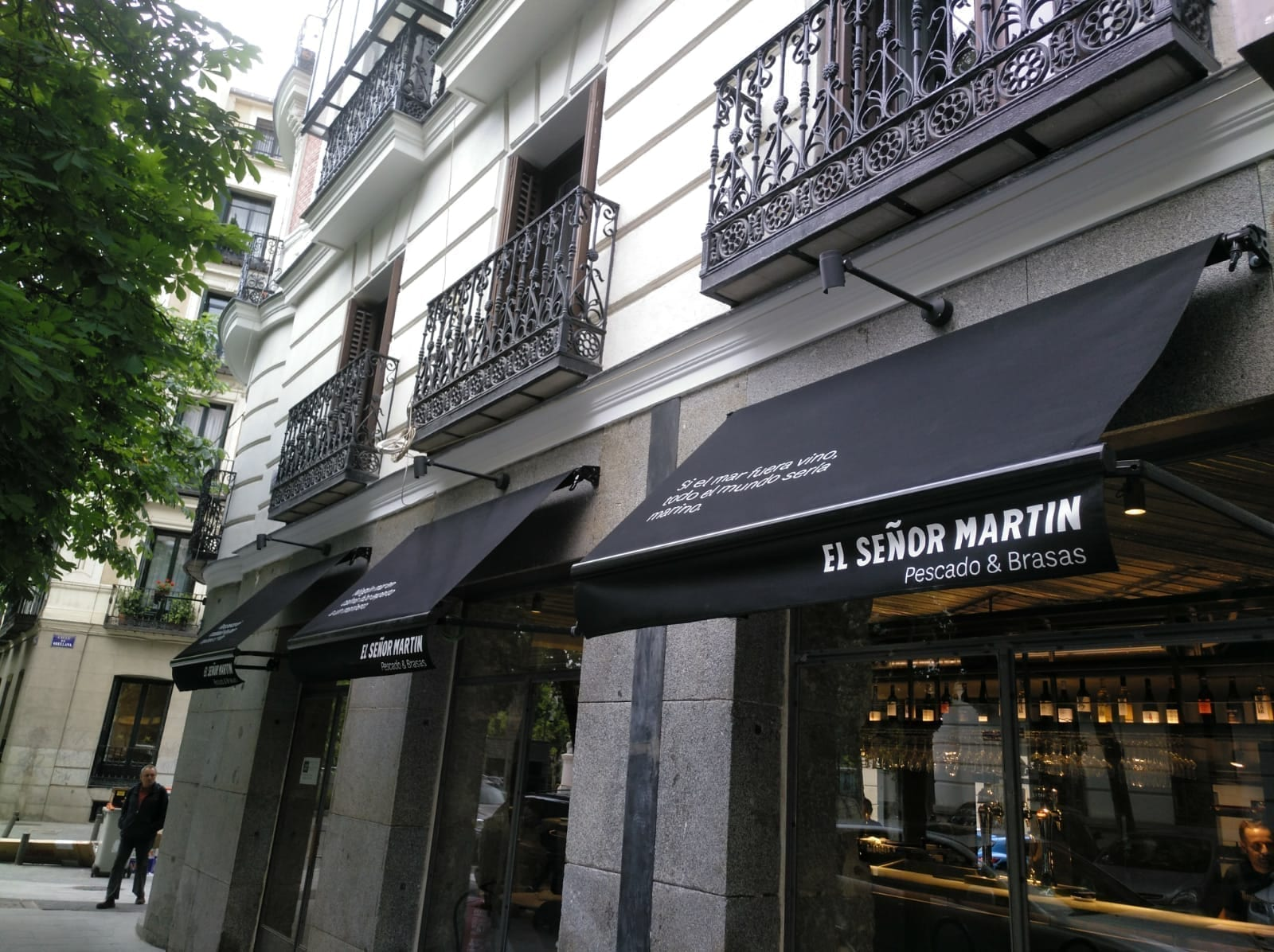toldos para restaurantes en Madrid