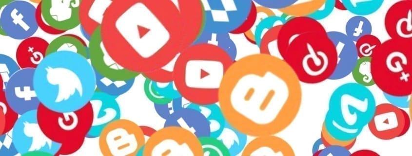 Logotipos animados redes sociales