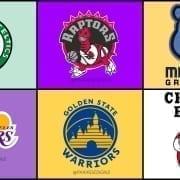 Los logotipos de la NBA rediseñados versión Disney