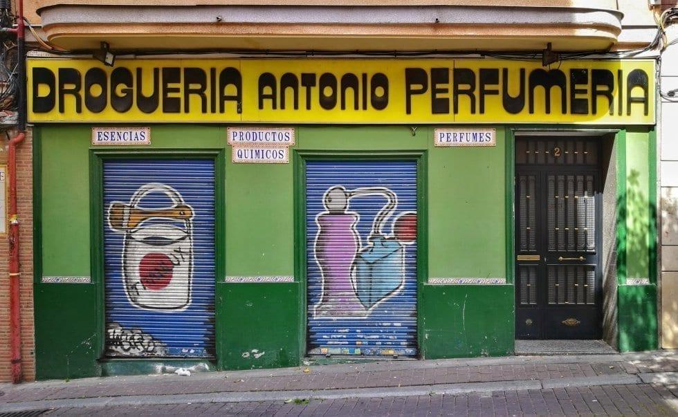 Rótulos comerciales España