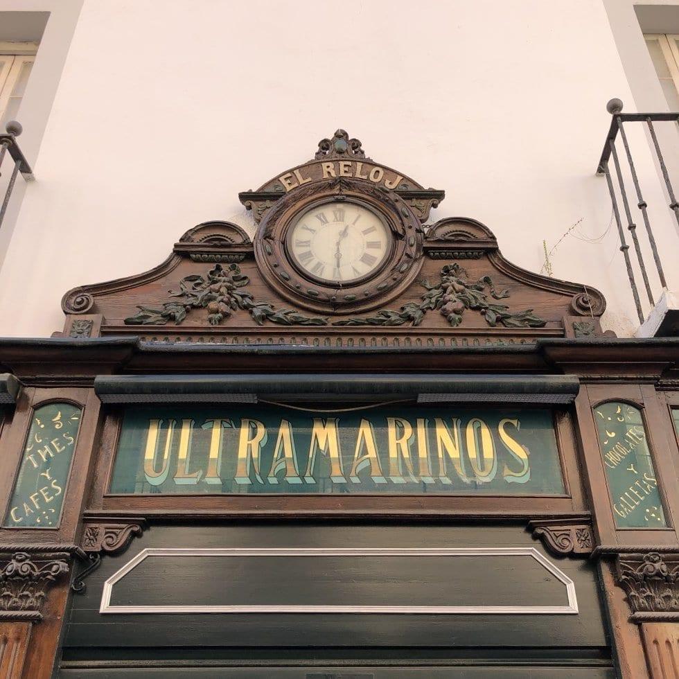 Rótulos de los comercios España