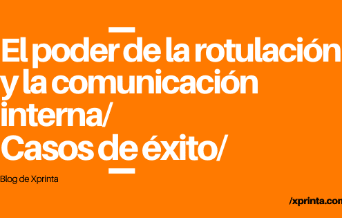 Rotulación y comunicación interna