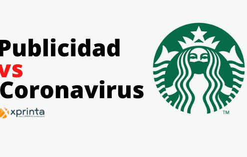 Publicidad creativa contra coronavirus