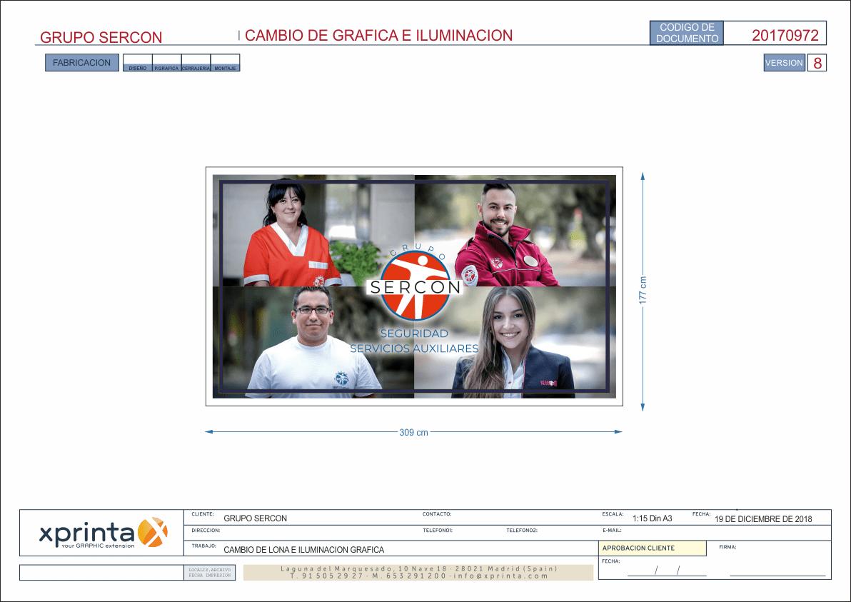 Decoracion de oficinas de servicios en Madrid