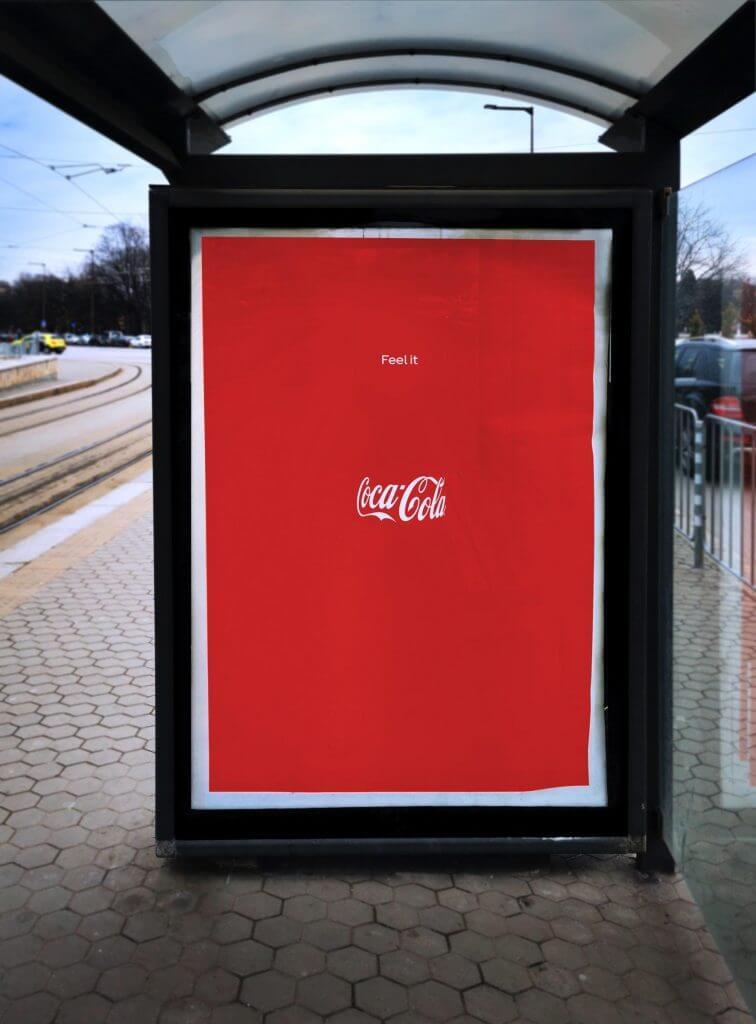 Publicidad exterior Coca Cola