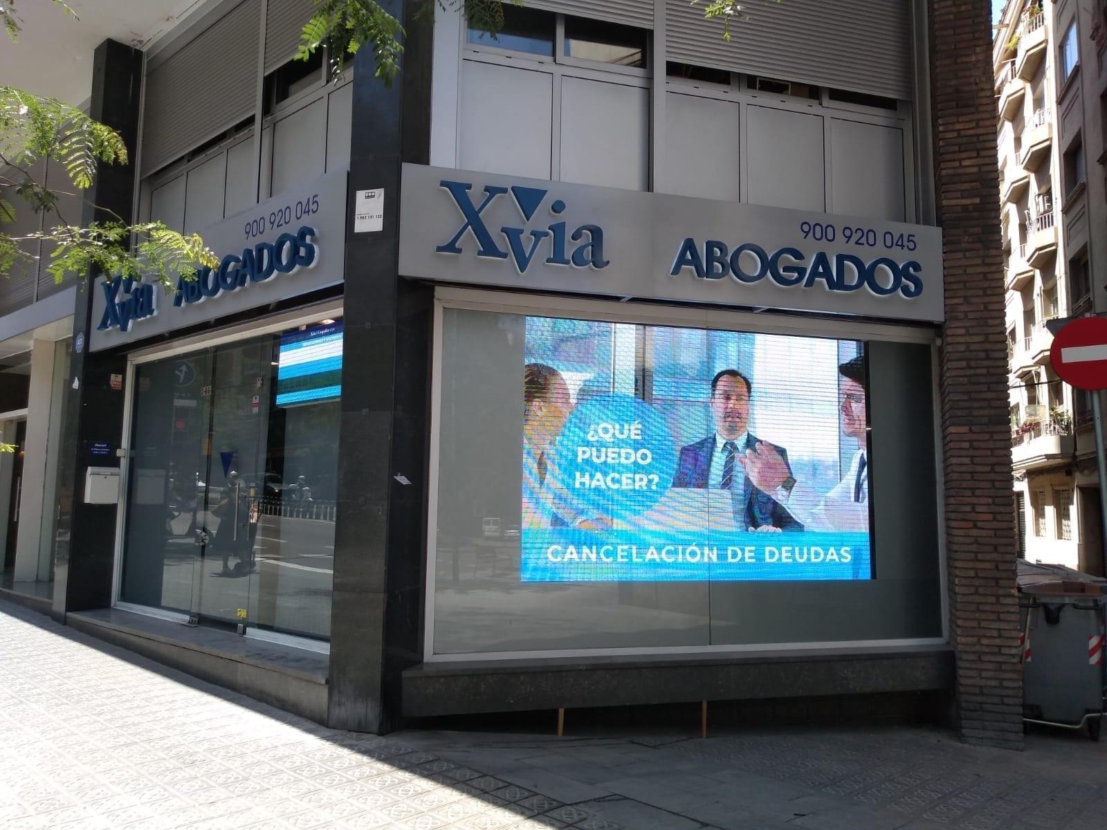 rotulos para despachos de abogados en Barcelona