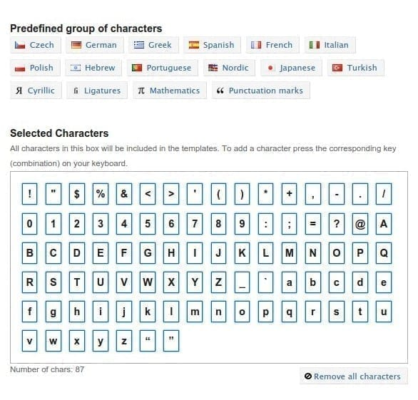 Programa gratuito crear fuentes tipográficas
