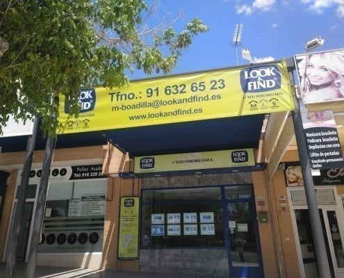 pancartas para inmobiliarias en Madrid