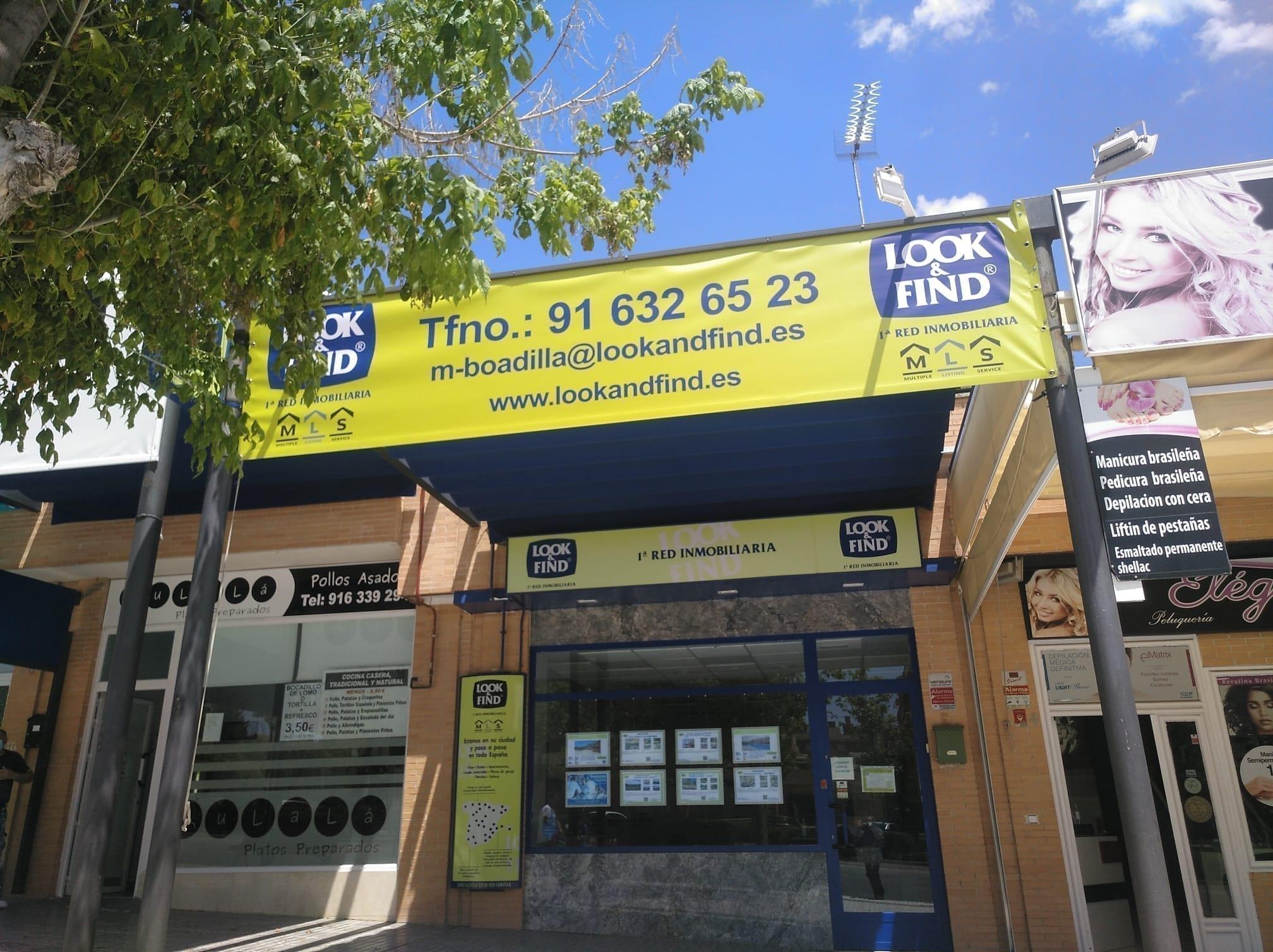 lonas impresas para fachadas en Madrid
