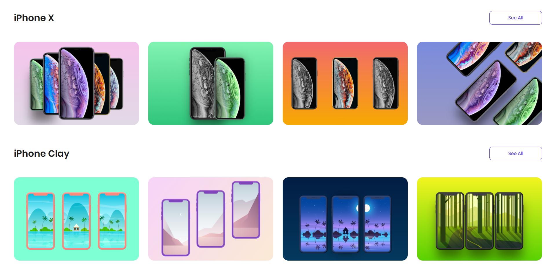 Previewed generador de mockups gratuitos para apps móviles
