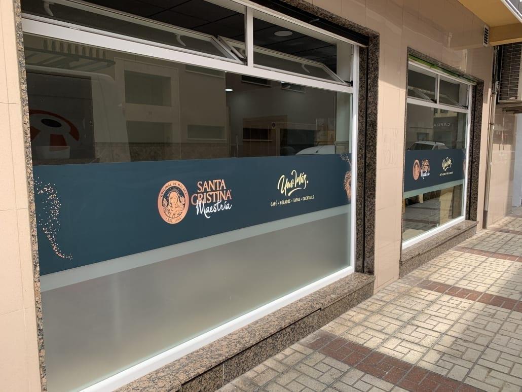 rotulos para cafeterias en Málaga