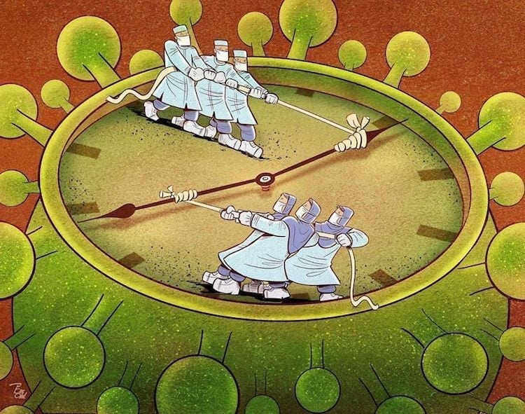Ilustraciones coronavirus