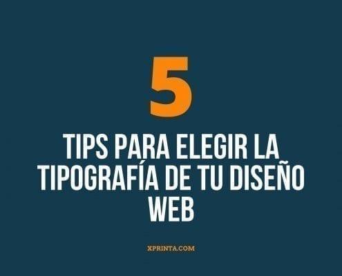 5 tips para elegir la tipografía de tu diseño web (
