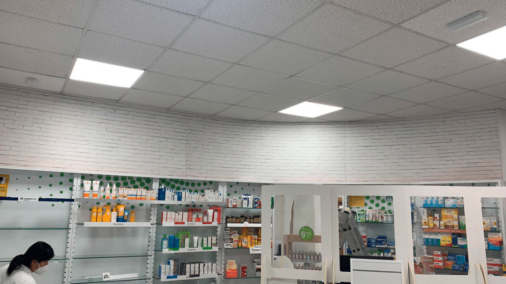 decoracion para farmacias