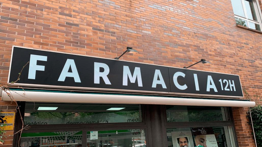 rotulos luminosos para farmacias
