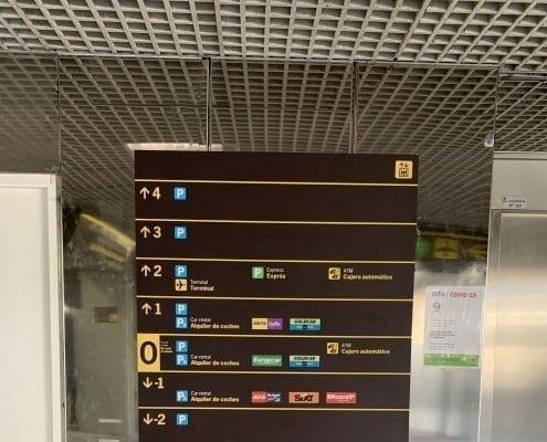 señalizacion para aeropuertos