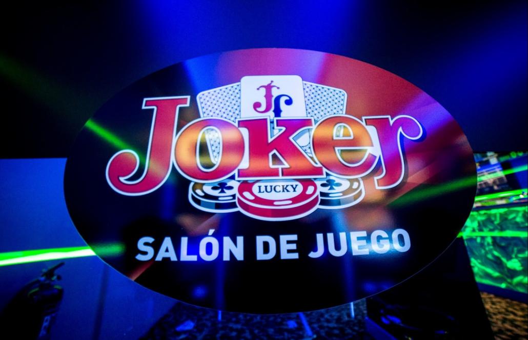 rotulos para salon de juegos en Madrid