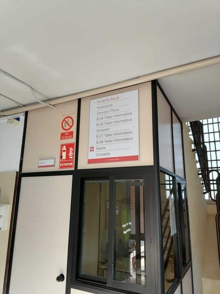 directorio para edificios