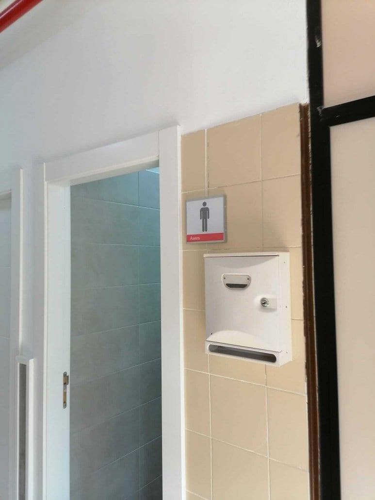 señalamientos para baños