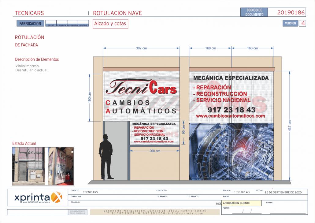 vinilos para talleres en Madrid