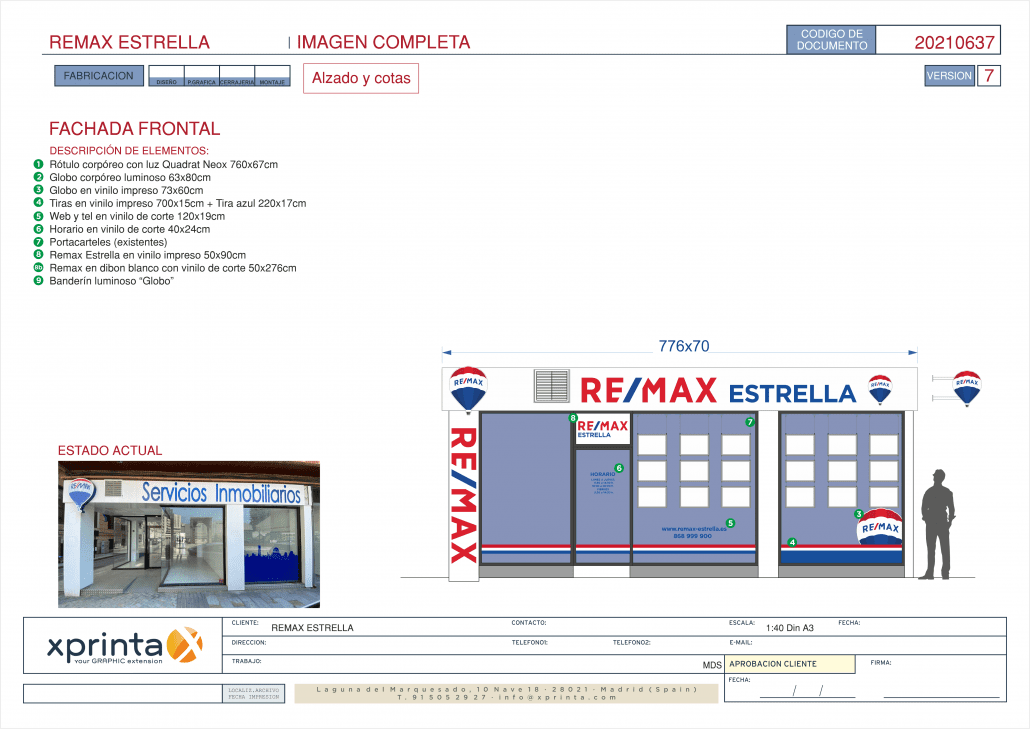planos tecnicos remax